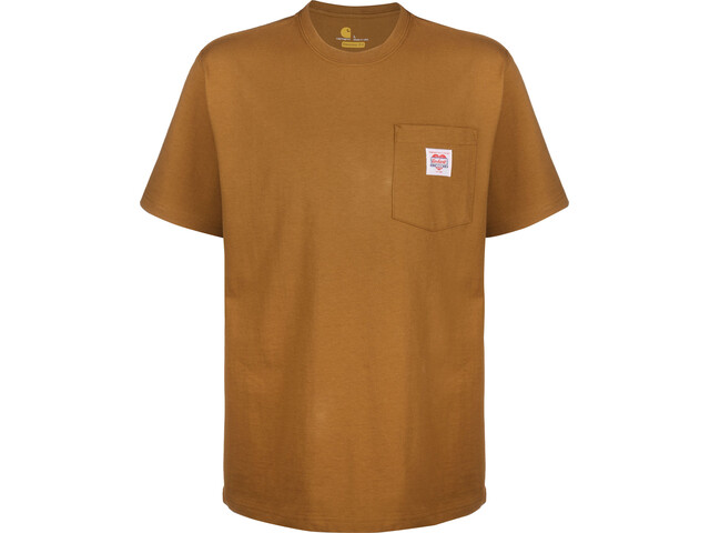Carhartt K87 Icon T-shirt Homme, brown